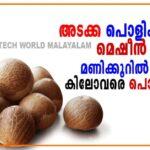 Areca nut machine in Kerala :Areca nut Dehusking Machine