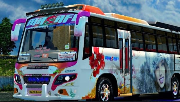Download Kerala Bus Mod Android Bus Simulator Indonesia Digit Kerala