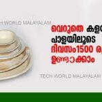 How to Make Areca Nut Leaf Plates | business idea in Kerala