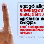 How to Register – Voter List Name