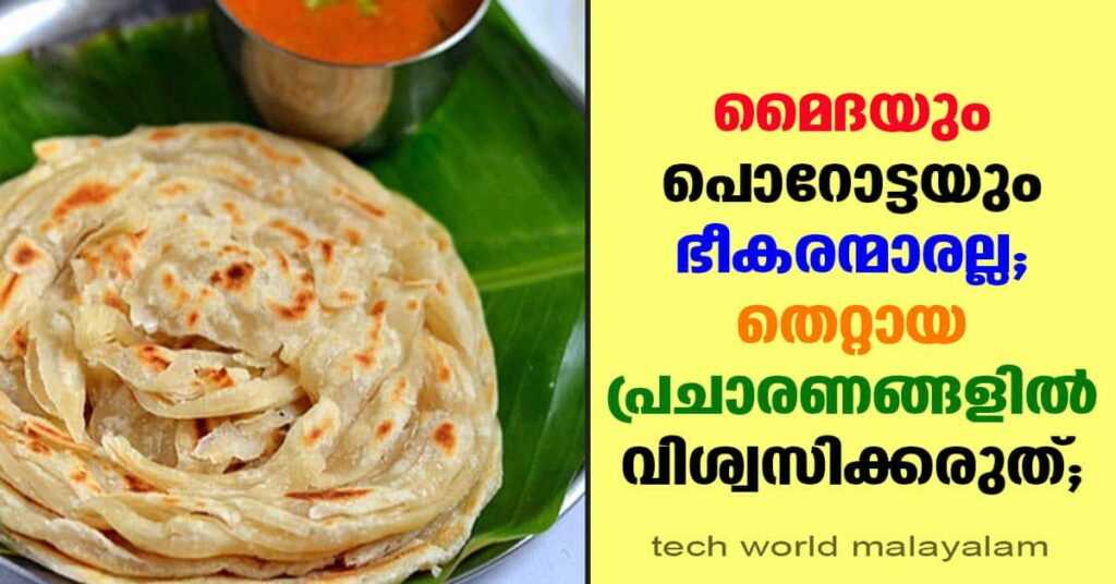 what is porota | Why is parotta harmful to health