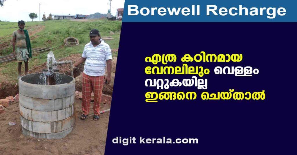 Borewell Recharge
