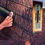 How to make Beautiful Brick Wall design in Kerala