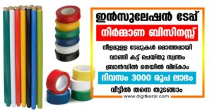 Insulation tape manufacturing business in Kerala