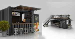 How to make container shop ,office in Kerala