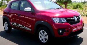 Renault Kwid with Electric motor and petrol engine