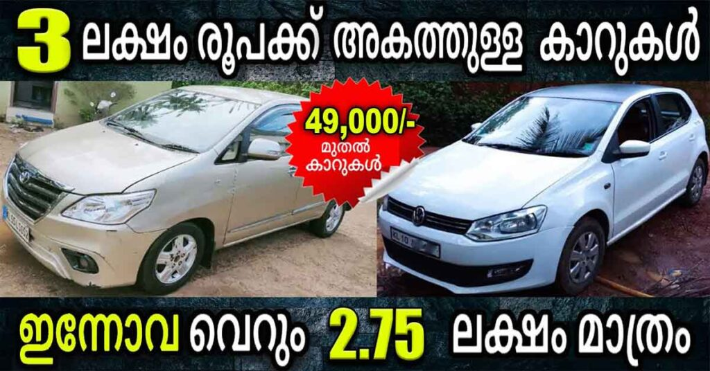 Used Cars for sale in Kerala