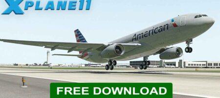 X-Plane 11 Flight Simulator Free download