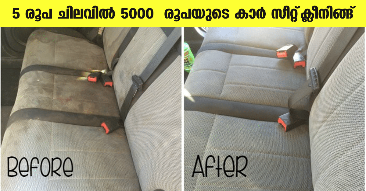 Car seat cleaning