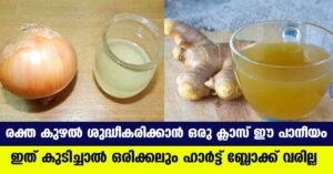 USE THIS EASY DRINK AND REDUCE THE FAT IN BLOOD VESSEL