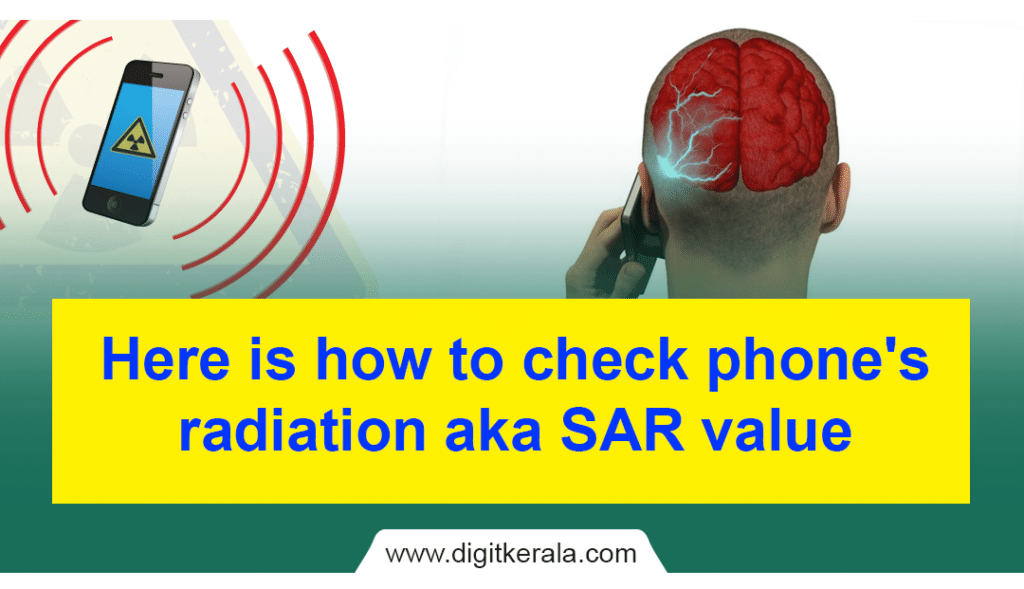 Here is how to check phone's radiation aka SAR value